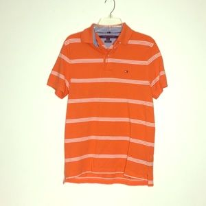 Tommy Hilfiger Small Orange Polo